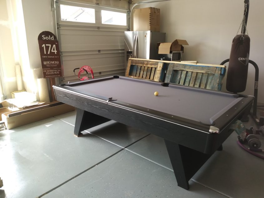 Can You Set Up A Pool Table In A Garage Welcome